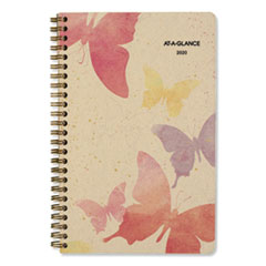 At A Glance 791200G: Watercolors Weekly / Monthly Planner, 8 1/2 X 5 1/2, Watercolors, 2020
