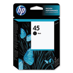 HP 51645A: 45 51645A Original Ink Cartridge Single Pack Inkjet 830 Pages Black 1 Each