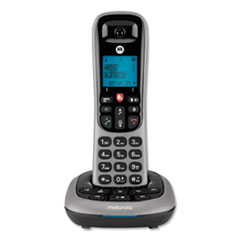 Motorola CD4011: MTRCD400 SERIES DIGITAL CORDLESS TELEPHONE with ANSWERING MACHINE, 1 HANDET