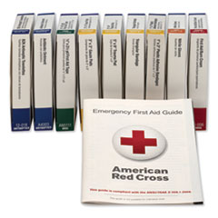First Aid Only 740010: Ansi Compliant 10 Person First Aid Kit Refill, 63-Pieces