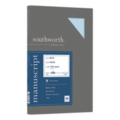 Southworth 41SM: 25 Cotton Manuscript Cover, 30Lb, 9 X 12.5, 100 / Pack
