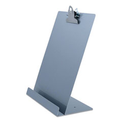Saunders 22520: Free Standing Clipboard Tablet Stand, 1 Clip Capacity, Holds 8.5 X 11, Silver