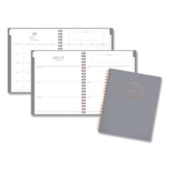 Mead Cambridge 1442905A30: Workstyle Academic Planner, 11 X 8.5, Gray Gem, 2020-2021