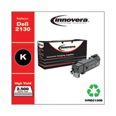 Innovera D2130B: REMANUFACTURED BLACK HIGH-YIELD TONER CARTRIDGE, REPLACEMENT for DELL 2130 330-1436, 2,500 PAGE-YIELD