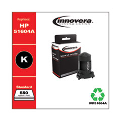 Innovera 51604A: REMANUFACTURED BLACK INK, REPLACEMENT for HP 51604A 51604A