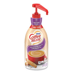 Coffee-Mate 13799: Liquid Coffee Creamer, Sweetened Original, 1500ml Pump Dispenser