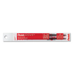 Pentel BKL10B: Refill for Pentel R.s.v.p. Ballpoint Pens, Medium, Red Ink, 2 / pack