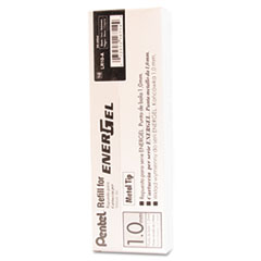 Pentel LR10A: Refill for Pentel Energel Retractable Liquid Gel Pens, Bold, Black Ink