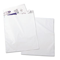 Quality Park 45235: Redi-Strip Poly Mailer, 6, Square Flap, Redi-Strip Closure, 14 X 19, White, 100 / Pack