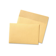 Quality Park 89604: Filing Envelopes, Letter Size, Cameo Buff, 100 / Box