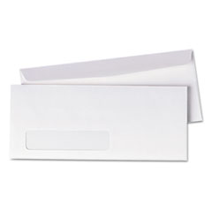 Quality Park 90120: Window Envelope, 10, Commercial Flap, Gummed Closure, 4.13 X 9.5, White, 500 / Box