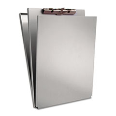 Saunders 10017: A-Holder Aluminum Form Holder, 1/2 Clip Capacity, Holds 8.5 X 12 Sheets, Silver