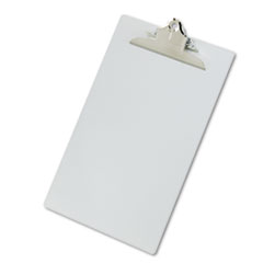 Saunders 22519: Aluminum Clipboard with high-Capacity Clip, 1 Clip Cap, 8 1/2 x 14 Sheets, Silver