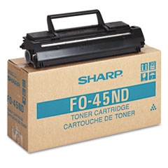 Sharp FO45ND: FO45ND Fax Toner Cartridge 5600 Pages