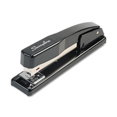 Swingline 44401S: Commercial Full Strip Desk Stapler, 20-Sheet Capacity, Black