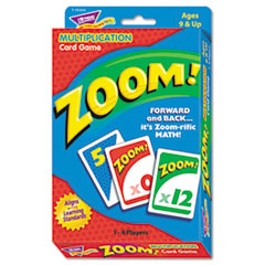 Trend T76304: Zoom Math Card Game, Ages 9 Up