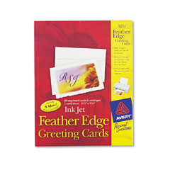 avery 3251 printable feather edge cards 5 12 x 8