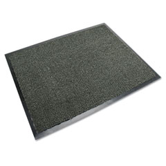 3M 59222: Nomad Carpet Matting 5000, Dual Fiber / Vinyl, 48 x 72, Black / Gray