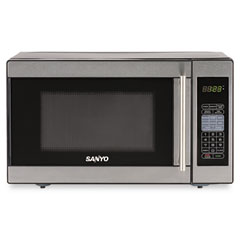 Sanyo Ems2589s Compact Microwave Oven 7 Cubic Foot 800 Watts Stainless