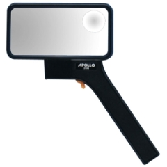 Apollo 27548: Lighted Rectangular Bifocal Magnifier Magnifying Area 2 Width x 4 Length Overall Size 10.8 Height x 6 Width Acrylic Lens