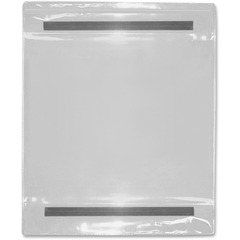Tatco 23912: Magnetic Pockets 9 x 12 Sheet Size Vinyl Clear 25 / Box