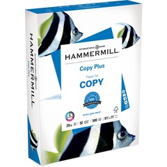 Hammermill 105007RM: Economy Copy Plus Paper Letter 8 1/2 x 11 20 lb Basis Weight 500 / Ream White