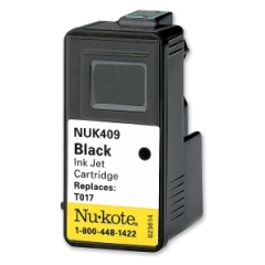 Nukote 409: Black Ink Cartridge Black Inkjet 400 Page 1 Pack