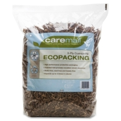 CareMail 1092723: Ecopacking 3-Ply Cushioning Fill, Recycled, 0.31 Cubic Ft Bag