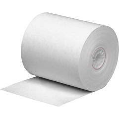 PM Company 05216: Receipt Paper 3 1/8 x 273 ft 25 / Carton White
