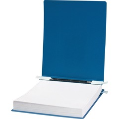 ACCO 56003: ACCO 23 pt. ACCOHIDE Covers with Storage Hooks, for Unburst Sheets, 9 1/2 x 11 Sheet Size, Blue 6 Binder Capacity 9 1/2 x 11 Sheet Size Pressboard Blue Recycled 1 / Each