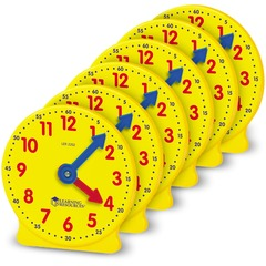 Learning Resources LER2202: Pre K-4 Learning Clocks Set Theme / Subject Learning Skill Learning Time 3-9 Year Multi