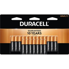 Duracell MN2400B20: Coppertop Alkaline AAA Battery MN2400 for Multipurpose AAA Alkaline 20 / Pack