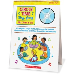 Scholastic 0439635241: Res. Circle Time Sing-Along Flip Chart Printed / Electronic Book by Paul Strausman CD-ROM, Book Grade Pre K-1