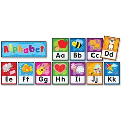 Carson-Dellosa 119004: PreK-Grade 2 Alphabet Bulletin Board Set Theme / Subject Learning Skill Learning Alphabet, Decoration 27 Pieces 4-8 Year