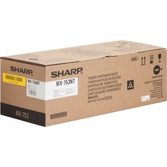 Sharp MX753NT: MX753NT Original Toner Cartridge Laser 83000 Pages Black 1 Each