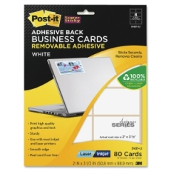 Post it d421 li super sticky business card label removable post it d421li super sticky business card label removable adhesive 2 width x 350 colourmoves