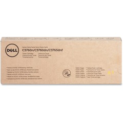 Dell MD8G4: Toner Cartridge Laser 9000 Pages Yellow 1 Each