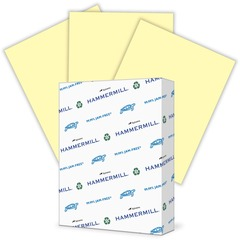 Hammermill 104307: Colors Laser, Inkjet Print Colored Paper Letter 8 1/2 x 11 24 lb Basis Weight Smooth 500 / Ream Canary