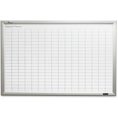 Skilcraft 6221763: Quartet Magnetic Work / Plan Kits 6 w x4 L 34 Columns 41 Rows 1 x 2 Block Aluminum Steel, Fiberboard, Mylar, Foil, Aluminum 72 Width Magnetic, Dry Erase Surface, Ghost Resistant, Stain