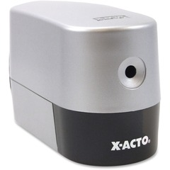 X-Acto 19240: Silver Electric Pencil Sharpener Helical Silver