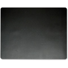 Artistic 7560: Eco-Black Antimicrobial Desk Pad Rectangle 20 Width x 36 Depth Black