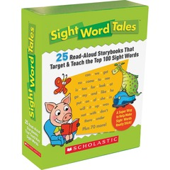 Scholastic 0545016428: Res. Grade K-2 Sight Word Tales Box Set Printed Book Book Grade K-2 English
