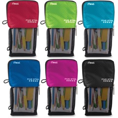 Mead Five Star 50516: Stand N Store Carrying Case Pouch Pencil, Accessories Assorted Puncture Resistant Fabric
