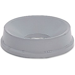 Rubbermaid 354800GY: Untouchable Round Funnel Top Round High-density Polyethylene HDPE 1 Each Gray