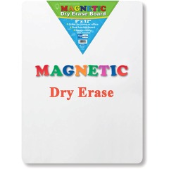 Flipside 10025: Magnetic Dry Erase Board 9 0.8 ft Width x 12 1 ft Height White Surface Rectangle 1 Each