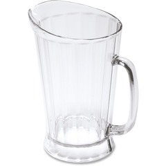 Rubbermaid 333400CLR: 60 oz. Bouncer II Pitcher 1.9 quart Pitcher Polycarbonate Plastic Dishwasher Safe Clear 1 Piece s Each