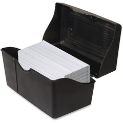 Advantus 45001: Index Card Holder Plastic 1 Each Black