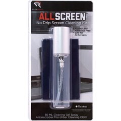 Read Right RR15044: Read / Right No Drip Screen Cleaning Kit for Display Screen Ammonia-free, Alcohol-free, Reusable, Antimicrobial, Anti-bacterial, Prevents Germs MicroFiberAerosol Spray Can 1 Each Assorted
