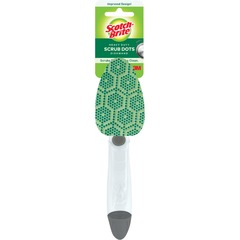 Scotch-Brite 691: Heavy-Duty Scrub Dots Dishwand 11.2 Height x 2.3 Width x 2.5 Depth 1Each Green