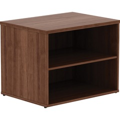 Lorell 16232: Walnut File Storage Cabinet Credenza 29.5 x 22 x 23.1 Finish Walnut Laminate, Silver Pull